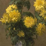 'Chrysanthemums', by Henri Fantin-Latour (detail)