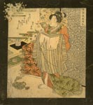 'Beauty after the Bath', by Utagawa Sadakague