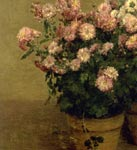 'Chrysanthemes', by Henri Fantin-Latour, 1874 (detail)