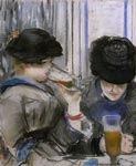 'Au Cafe', by Edouard Manet