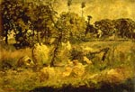 'Autumn in the Fields', by Adolphe Monticelli