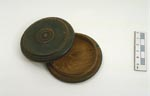 Snuff box, made from timber recycled from Tantallon Castle, 1890