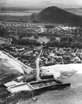 North Berwick from the air 1950