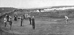 Golf match at North Berwick c.1920