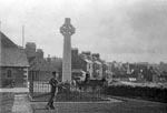 Memorial Cross, North Berwick c.1890