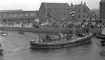 Lifeboat in North Berwick Harbour 1952