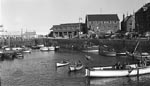 Boats in North Berwick Harbour c.1950