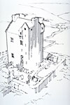 Corgarff Castle (Reconstruction drawing)