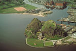 Dumbarton Castle (Aerial view)