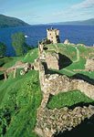 Urquhart Castle (View to the north)