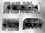 Combs from Broch of Burrian, North Ronaldsay, Orkney