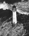 Bell Rock lighthouse, near Arbroath, off the Angus Coast