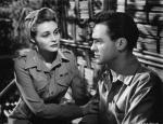 American actress Patricia Neal stars with Richard Todd in the film 'The Hasty Heart'