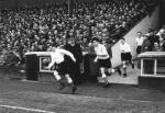 Aberdeen v Hearts football match, 1955