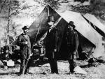 Allan Pinkerton with Abraham Lincoln, c.1861
