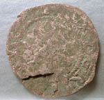 Coin, bawbee of Mary of Scotland, found Cromarty