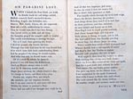 Andrew Marvell's poem as Preface to Paradise Lost, printed by Baskerville