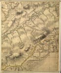 Roy Map 07/1c: Area around Upper Liddesdale, in Roxburghshire