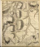 Roy Map 08/2d: Area around The Head of Jed and Rule Waters, in Roxburghshire