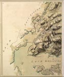 Roy Map 11/5f: Area around the mouth of Loch Melfort, in Argyllshire