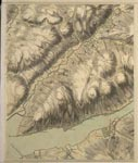 Roy Map 14/3a: Area around Glen Shira, in Argyllshire
