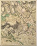 Roy Map 17/3c: Area around Clunie, in Perthshire