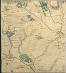 Roy Map 20/2d: Area around Fettercairn, in Kincardineshire and Forfarshire (or Angus)