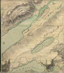 Roy Map 26/3a: Area around the Head of Loch Ness, in Inverness-shire