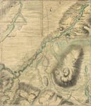 Roy Map 26/3b: Area around the Upper River Nairn, in Inverness-shire
