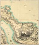 Roy Map 33/2e: Area around the mouth of Loch Broom, in Ross-shire