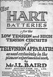Advertisement for Hart Batteries