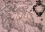 Map of Scotland 1570
