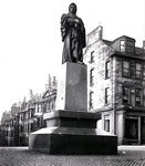 Statue of Thomas Chalmers at the junction of George Street and Castle Street, Edinburgh