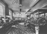 Millinery department, Jenner's department store, Edinburgh