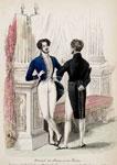 Fashion plate, from Le Journal des Dames et des Modes