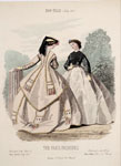 Fashion plate, from Bow-Bells