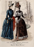 Fashion plate, from Sylvia's Home Journal