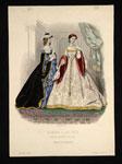 Fashion plate, from La Mode Illustreé