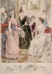 Fashion plate, from The Queen