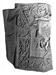Cross slab (fragment)