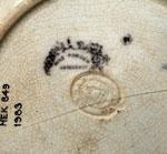 Soup plate (detail)