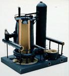 Model, of blast furnace