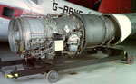 Aeroplane engine, used in Hawker Siddeley Trident 1 Airliner