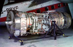 Aeroplane engine, used British & French prototypes of Concorde