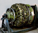 Aeroplane engine, produced for Blackburn Beverley transport aircraft