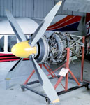 Aeroplane engine, used in Vickers Viscount airliner