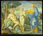 Panel, showing the Creation of Eve