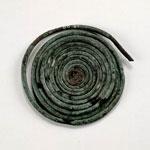 Coil of bronze wire
