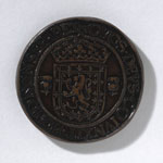 Electrotype of a medal (reverse), commemorating the Marriage of Mary, Queen of Scots and Henry, Lord Darnley