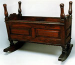 Cradle associated with Mary, Queen of Scots